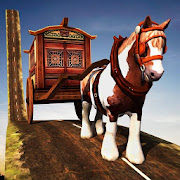 horse carriage sim impossible track & fast driving