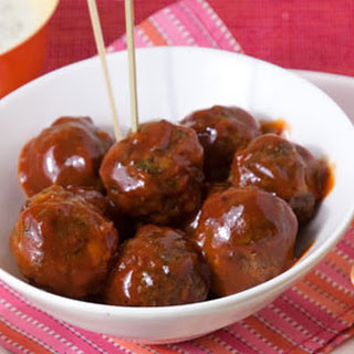 Chipotle-Orange BBQ Meatballs