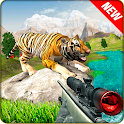 Angry Tiger Hunter : Crazy Mountain shooter icon