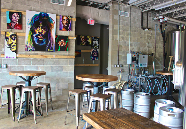 Interior at Zilker Brewing Company.