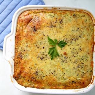 Broccoli Cauliflower Breakfast Casserole.