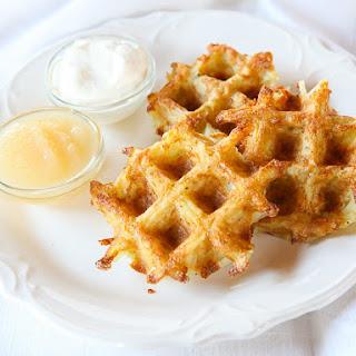 Latke Waffles.