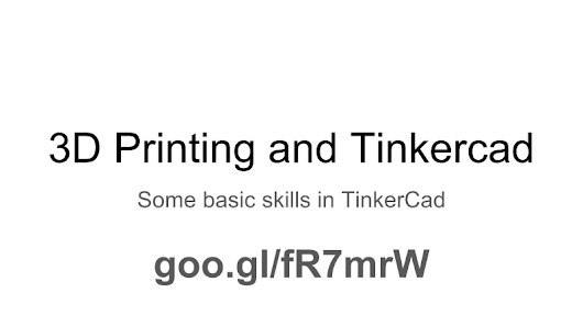 TinkerCad and 3D Printing Toolkit