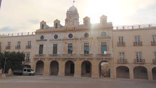 Fachada de la Casa Consistorial.
