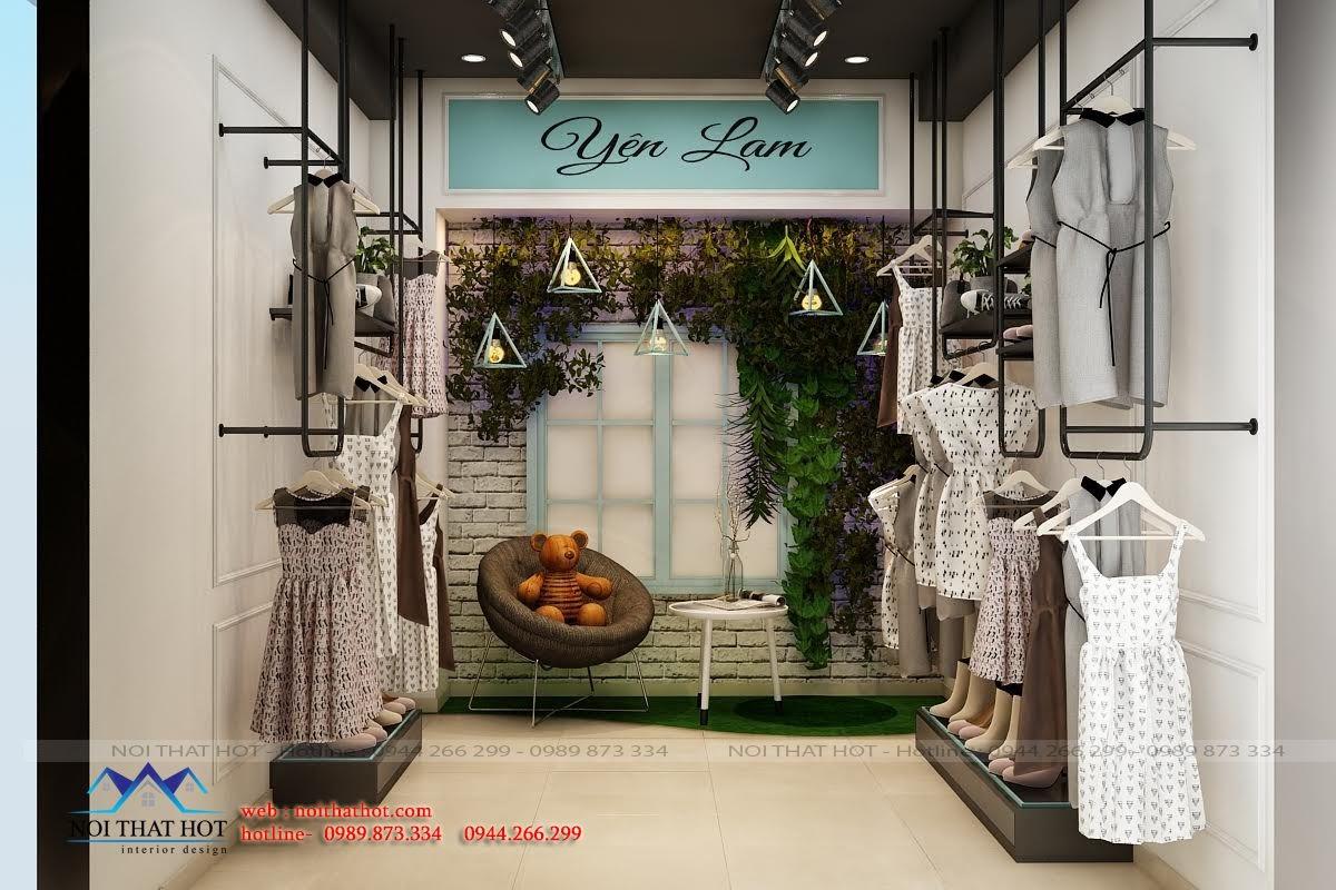 thiết kế shop thời trang dành cho nữ