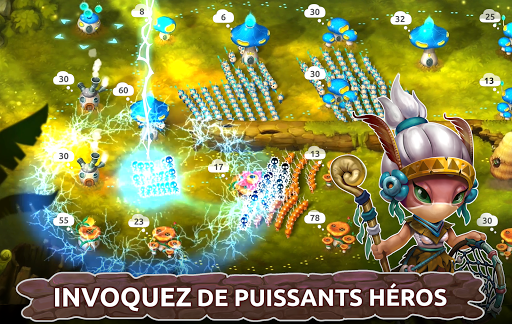 Télécharger Mushroom Wars 2 - RTS et Tower Defense Épique mod apk screenshots 2