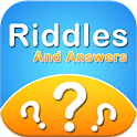 Brain riddles and answers icon
