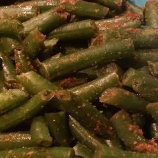 Ginger Cumin Green Beans.