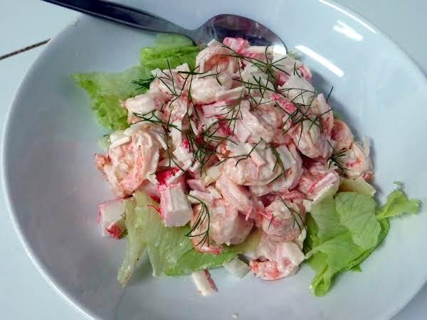 Shrimp & Crab Salad Recipe