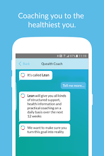 Quealth – Health Scoring App - náhled