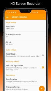 HD Screen Recorder 1080P 60fps App Download For Android 4