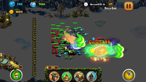 StickMan Defense War - Empire Hero & Tower Defense android2mod screenshots 7