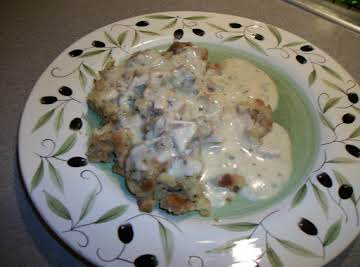 Kim's Creamed Chicken