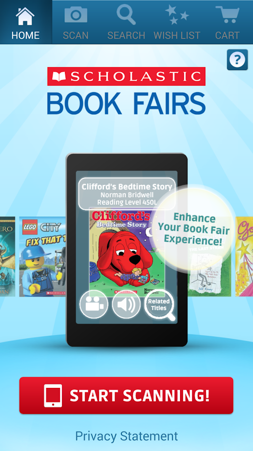 Scholastic Book Fairs- screenshot