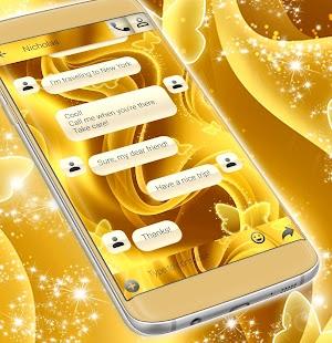 Zdarma 2017 Gold SMS Téma - náhled