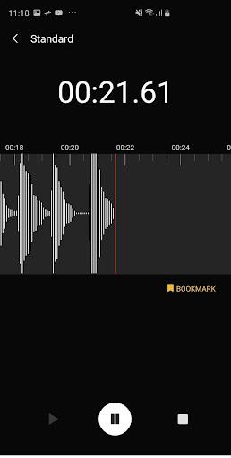 Screenshot for Samsung Voice Recorder in Hong Kong Play Store