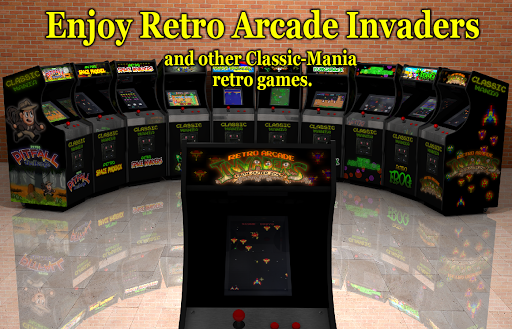 Retro Arcade Invaders - Space Shooter  screenshots 16