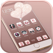 App Rose gold diamond Theme APK for Windows Phone