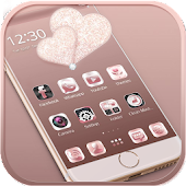 Rose gold diamond Theme