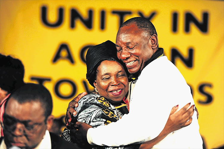 CONTENDERS: Nkosazana Dlamini-Zuma or Cyril Ramaphosa might replace Jacob Zuma as ANC president