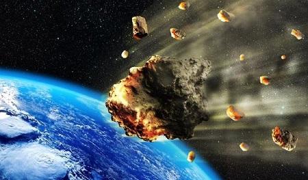 Ilustrasi Gambar Meteor