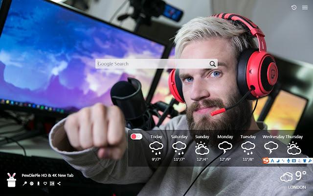 PewDiePie HD & 4K New Tab, Wallpapers HD