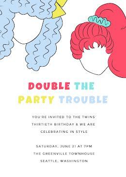 The Twin's 30th Birthday - Birthday item