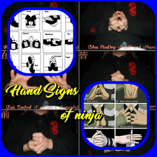 Hand Signs of ninja - náhled