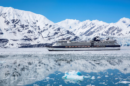 Sail on Celebrity Millennium for close-up views of jaw-dropping glaciers in Alaska.