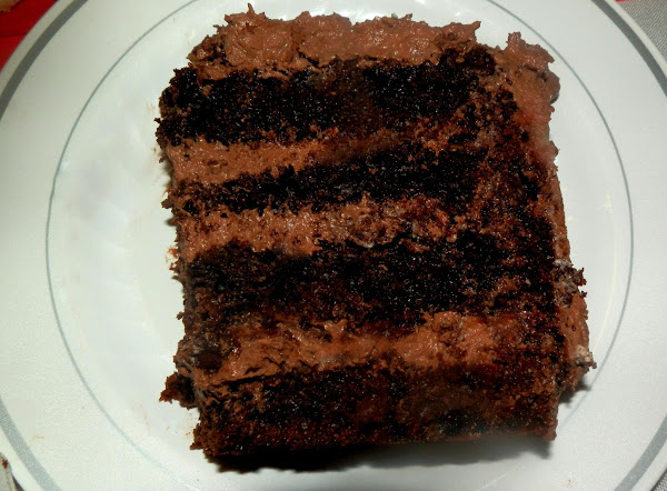 Dee's Triple Chocolate Fudge Cake Recipe