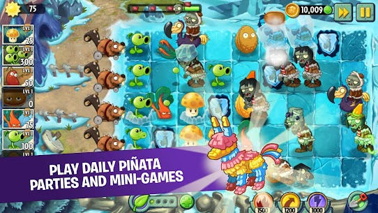 Plants vs Zombies 2 Mod Apk 7.9.3 (Unlimited Coins + Gems) 2
