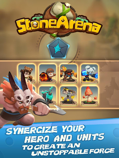 Stone Arena 0.6.41 gameplay | by HackJr.Pw 13