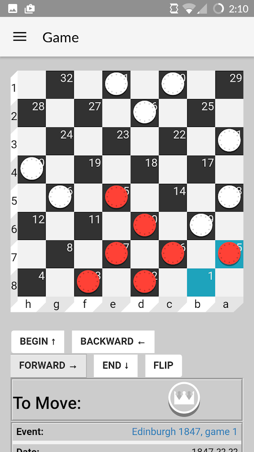 Checker Cruncher- screenshot