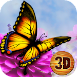 Butterfly Insect Simulator 3D Icon