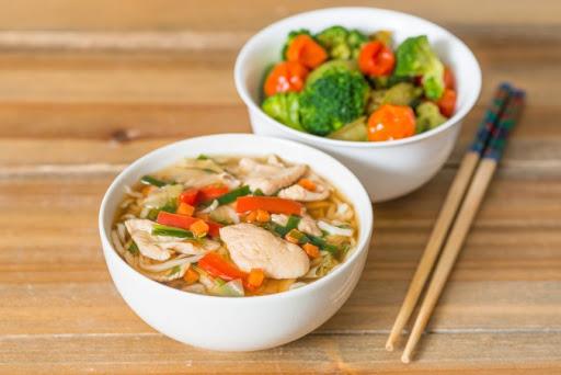 Ramen Chicken Soup