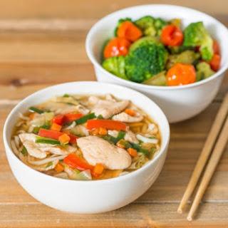 Ramen Chicken Soup.