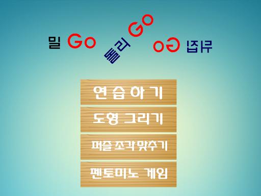 밀Go돌리Go뒤집Go-도형 학습 펜토미노 게임