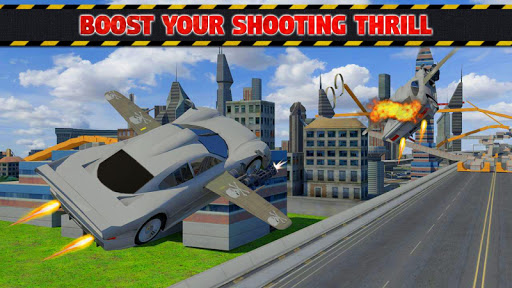 Futuristic Flying Car Ultimate - Aim and Fire screenshot