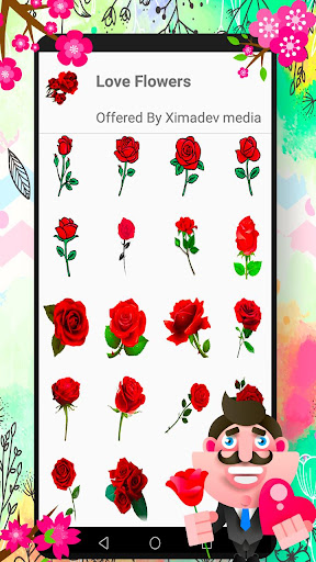 Download WAStickerApps Flowers 1.1 1
