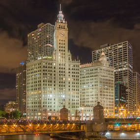 Wrigley Building by Sue Matsunaga - Buildings & Architecture Office Buildings & Hotels