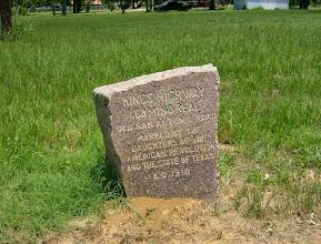 Photo: DAR El Camino Real marker near Grapeland