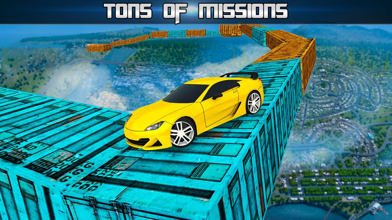 Extreme Impossible Tracks Stunt Car Racing- screenshot