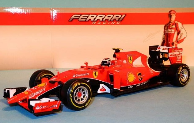 Ferrari SF15-T Kimi Räikkönen - Mã Bburago 18-16801