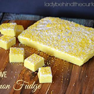 Microwave Lemon Fudge