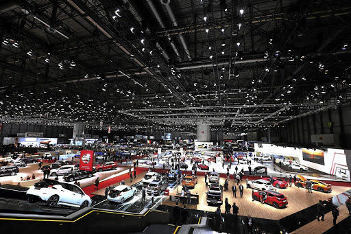 Electric cars were a key theme of the Geneva motor show as automakers begin the transition from fossil fuels. Picture: NEWSPRESS UK