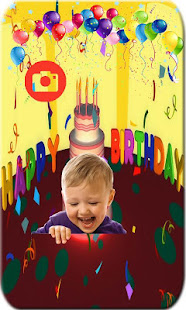Happy Birthday Wishes Photo Frames Editor App
