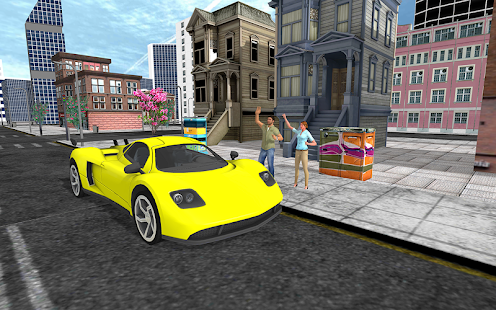 Crazy City Taxi Driver 3d: Hill Station - náhled