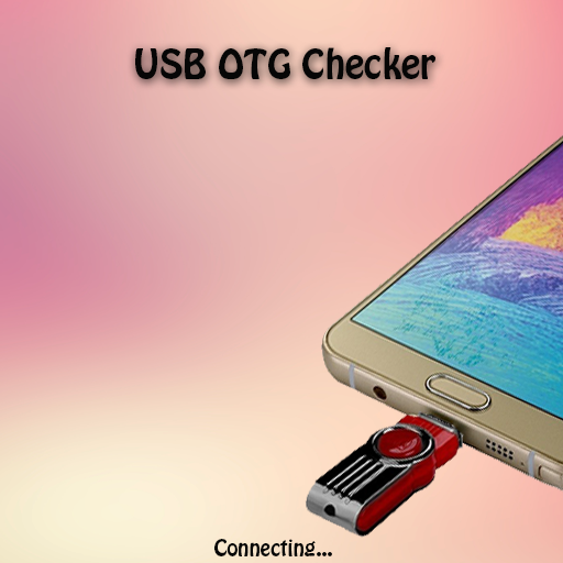 Icon for USB OTG Checker Connector Mobile