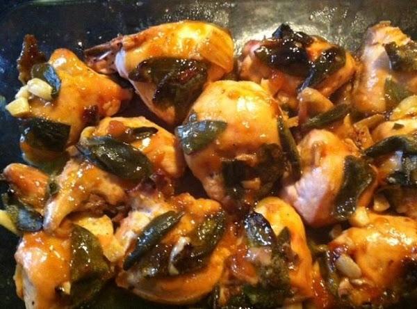 Garlic N Sage Apricot Chicken Recipe