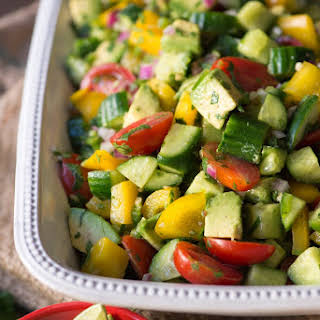 Holy Guacamole Salad.